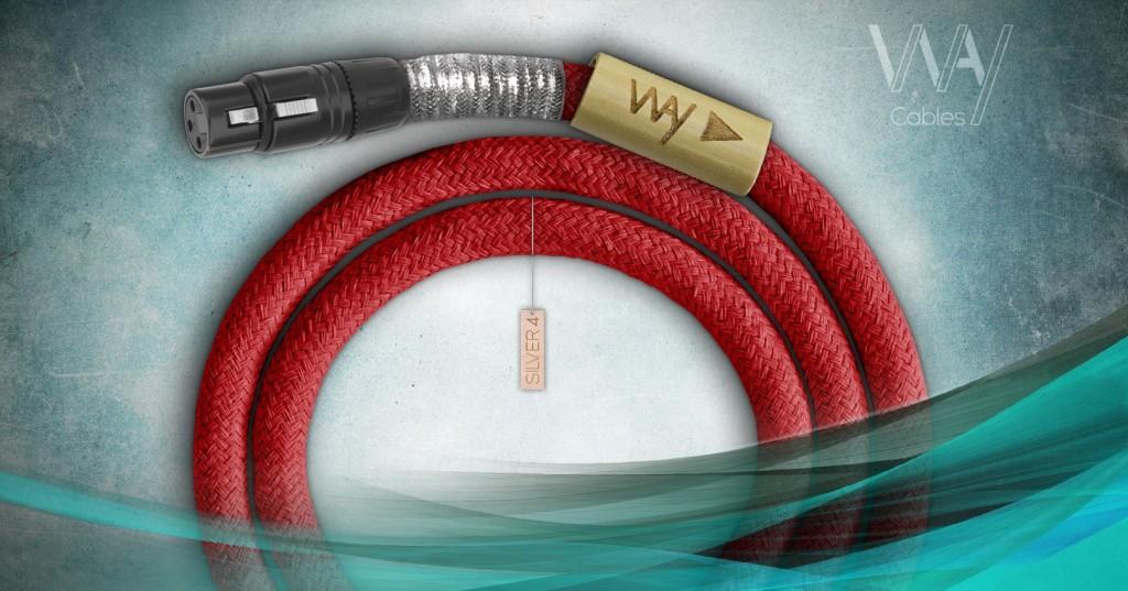 Way Cables Silver 4 XLR interconnect